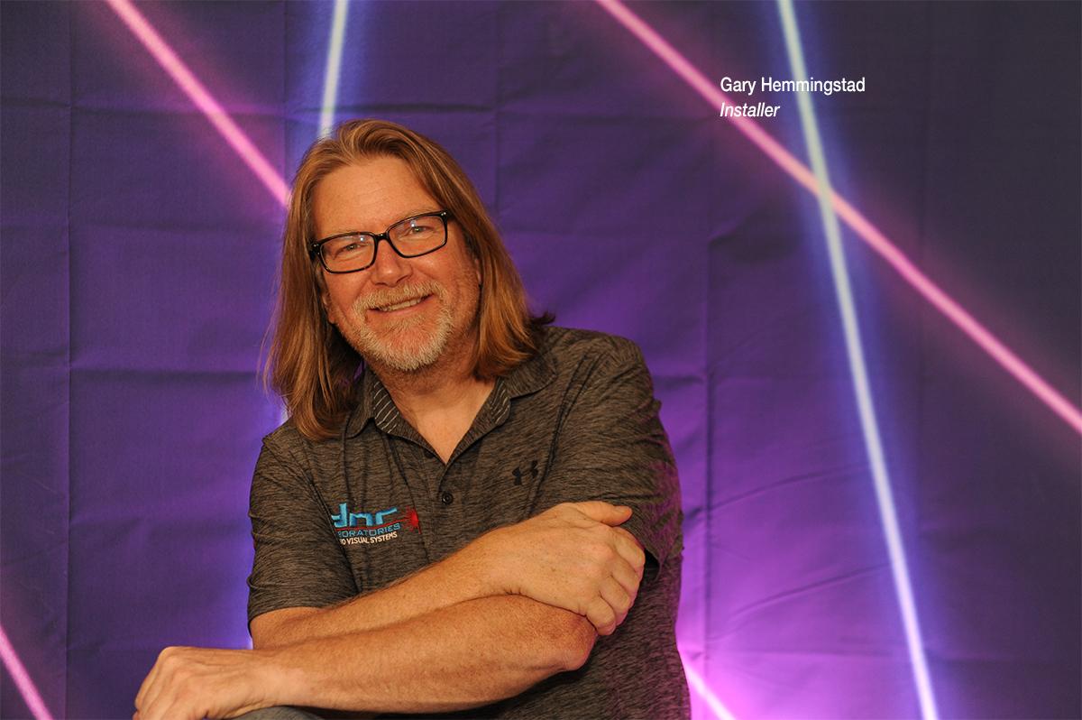Gary Hemmingstad, Installer