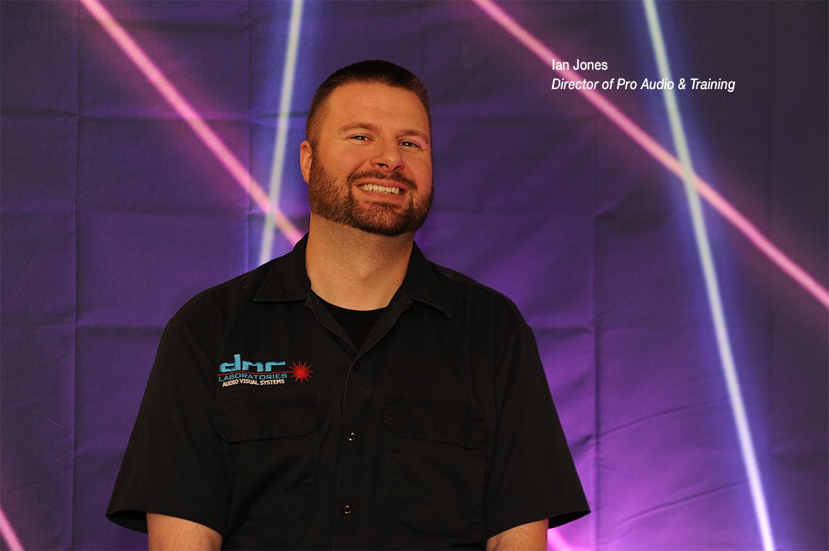 Ian Jones, Director of Pro Audio & Training