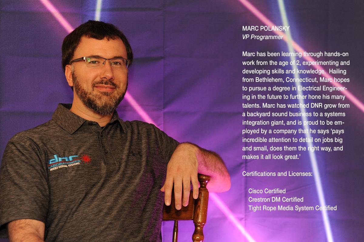 Marc Polansky, VP Programmer